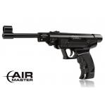 Wiatrówka - Pistolet AirMaster 25 kal. 4,5 mm czarny