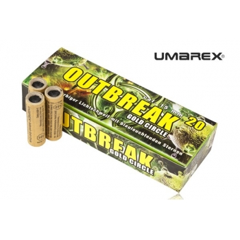 Race UMAREX Outbreak Gold Circle 20 szt. klasa 1.4 S
