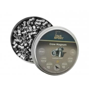 Śrut Crow Magnum Diabolo ciężki rozrywający 5.5 mm - 200 szt.